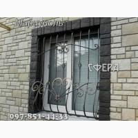Металлические оконные решетки, изготовление и установка решеток на окна, ковка под заказ