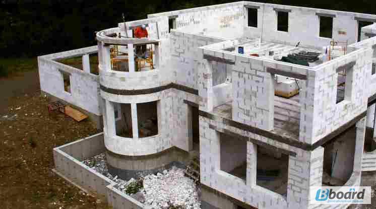 Технология строительства домов с использованием газобетона