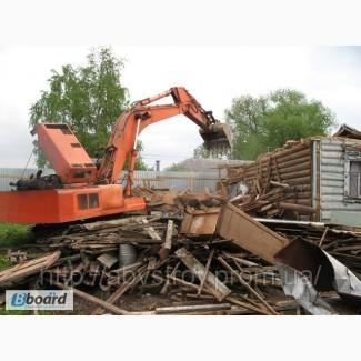 Демонтаж, демонтажные работы любой сложности, снос домов, построек, конструкций
