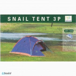 Продам отличную палатку 3-х местную 1006 Wolf Snail Tent 3P
