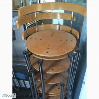 Продам стулья с круглой сидушкой бу для кафе