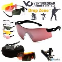 Спортивные защитные стрелковые очки (4 сменные линзы ) Drop Zone