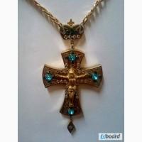 Крест нагрудный-церковная утварь Украина
