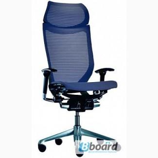 Кресла OKAMURA CP Япония спина/сетка, сидение/сетка, широкий подголовник/сетка