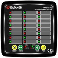 DATAKOM DKM-0224 Сигнализатор аварийных ситуаций, 24 канала, источник питания переменного т