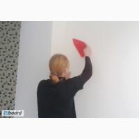Малярные работы Киев Поклейка обоев