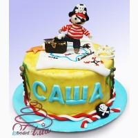 Дитячий торт на замовлення в Києві Пірат