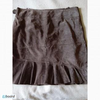 Продаю натуральную замшевую юбку