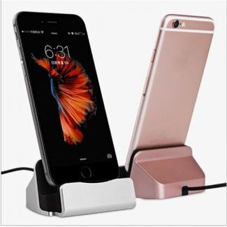 Новая док-станция для iPhone /iPod / iPad и устройств c lighting-коннектором. Разные цвета