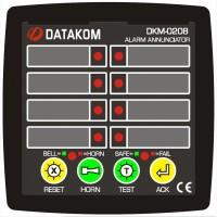 DATAKOM DKM-0208 Сигнализатор аварийных ситуаций, 8 каналов, источник питания постоянного т