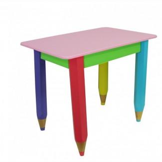 Детский столик без пенала Карандаши