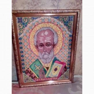 Продам икону из бисера