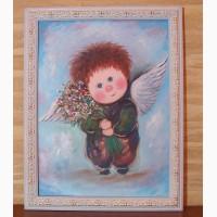 Подарунок на День народження картина Мій янгел