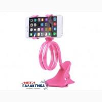 Держатель для телефона megag pink зажим pink