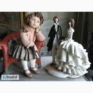 Реставрация керамики, фарфора и композита: статуэтки, вазы, сувениры, декор