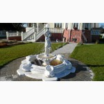 Фонтан для сада декоративный, бетонный парковый, для дачи в сад