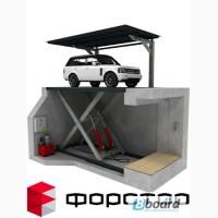 Автомобильный лифт для подземного гаража