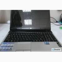Нерабочий ноутбук MSI VR630x по запчастям