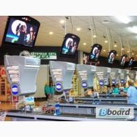 Размещение видеороликов в супермаркетах и Т.Ц