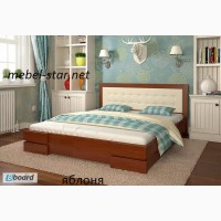 Двуспалная кровать из дерева Регина