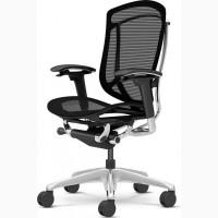 Кресло офисное OKAMURA CONTESSA Black спинка/сетка, сидение/сетка, полированное