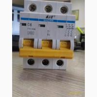 Автоматический выключатель ВА47-29м 3п, С, 6А, IEK