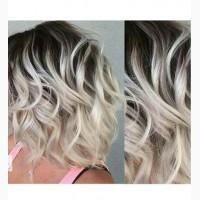 Окрашивание волос. Балаяж, Шатуш, Бронирование, Мелирование, Смоки Блонд