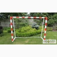 Ворота футбольные ДЕТСКИЕ 2000х1500 (разборные) стальные с полосами