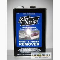 Промышленная смывка старой краски Zip Strip (США) (снимает до 11 слоев за один раз).