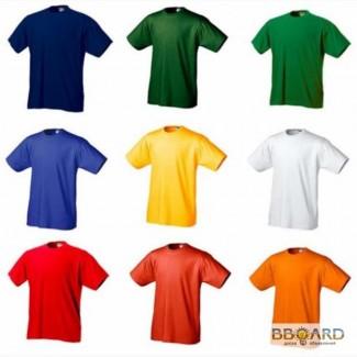 Футболки красные, синие, зеленые, голубые, розовые, белые от 22 грн