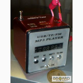 Компактный цифровой FM радиоприёмник+МР3
