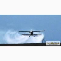 Авиавнесение средств защиты растений - услуги вертолета