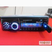 Автомагнитола Pioneer 1092 (USB, SD, FM, AUX, ПУЛЬТ)
