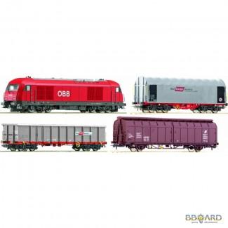 Железная дорога Rосо. Стартовый набор 41348.