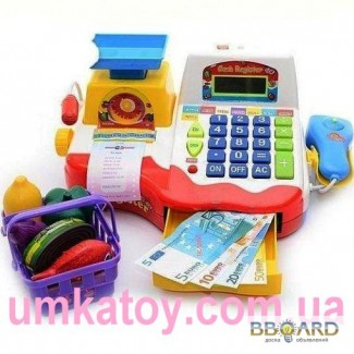 Продаем детский кассовый аппарат Joy Toy 7162 Мини касса