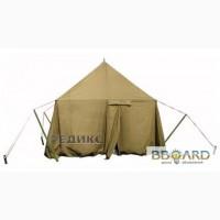Брезент, палатка лагерная солдатская, тенты, навесы брезентовые