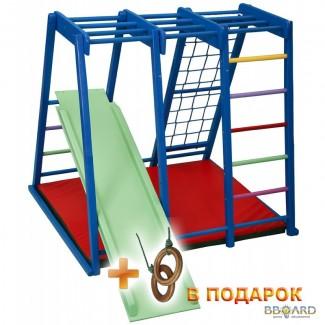 Детский спортивный тренажер деревянный «Акварелька мини» купить