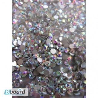 Стразы ss10 Crystal AB, стекло, 1440шт.(2.7-2.9мм)