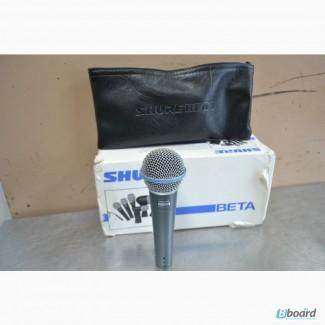 Микрофон Shure Beta58а оригинал Мехико