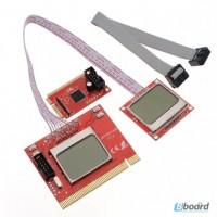 Диагностическая POST пост карта PTi8 для настольных ПК и ноутбуков (Мини PCI-E/Mini PCI)
