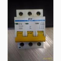 Автоматический выключатель IEK ВА47-29м 3Р D13
