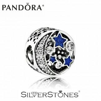 Скидки! Pandora Пандора шарм бусина Винтажная ночь арт. 791992CZ Оригинал