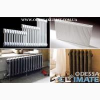 Купить радиаторы в Одессе стальные - биметаллические - алюминиевые