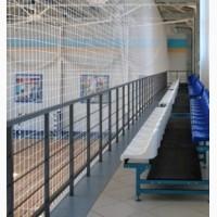 Сетка для ограждения спортивных залов