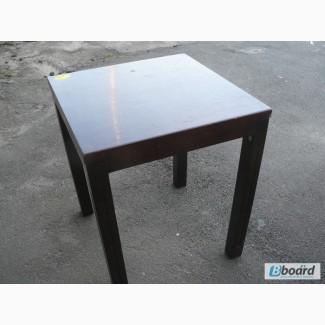 Продам недорого деревянные столы квадрат б/у в ресторан, кафе, общепит