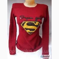 Свитер женский (шерсть, акрил) Supergirl Smile B-1053 Оптом и в розницу