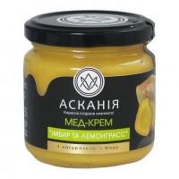 Крем-мед Имбирь и лемонграсс 250г (1ящ/12шт)
