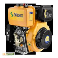 Двигатель дизельный Sadko (Садко) DE-420MЕ. 10.0 л.с. Шлицевой вал. Электростартер