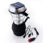 Лампа фонарь на солнечной батарее 36 LED