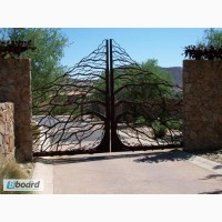 Качественные и красивые кованые ворота